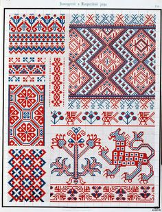 Russian embroidery.