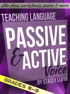 Active and passive voice lesson plans