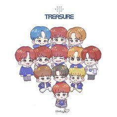 T Art, Haikyuu Anime, Treasure Boxes, Yg Entertainment, Boyfriend Material, 2ne1, Kpop, Entertaining, Cartoon
