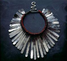 Silver Necklace Designed by Alexander Calder   1940