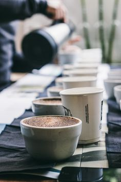 Coffee Cupping at Protein by DunneFrankowski | Top With Cinnamon