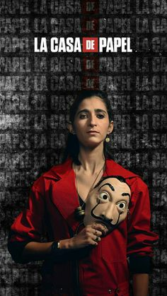 Shop The Most Trending Money Heist The House of Paper La Casa De Papel Dali Red Cosplay Costume For upcoming Halloween. Available For sale at Affordable Price. Get scary look ! Money Heist Red Costume is here for you! Nairobi, Netflix Series, Series Movies, Tv Series, Free Iphone Wallpaper, Screen Wallpaper, Iphone Wallpapers, Money Pictures, Money Affirmations
