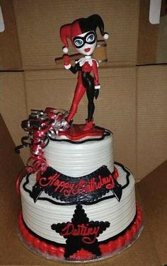 Cake Wrecks - Home - Sunday Sweets For Harley Quinn