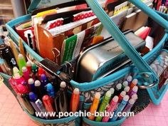 What's in My Planner/Art Journal Tote Bag? See How I Organize My Most Used Supplies. - Poochie Baby