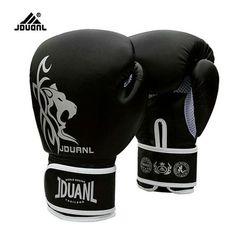 10 oz PU Muay Thai Gants De Boxe MMA Sanda Martiaux Kungfu 2017 Nouveau Femmes Hommes Combat Sacs De Sable Formation Mitaines luvas Guantes boxeo