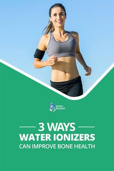 The best-documented benefit of is its ability to improve your Learn about 3 ways to improve your with a water ionizer today! Water Ionizer, Bone Health, Drinking Water, Get Healthy, Research, Benefit, Healthy Lifestyle, Improve Yourself, Learning