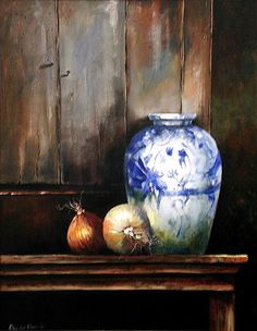 Earthen ware and Onions by Rika De Klerk, Oil But Is It Art, Still Life Oil Painting, South African Artists, Still Life Art, Wabi Sabi, Light And Shadow, Painting Inspiration, Onions, Food Art