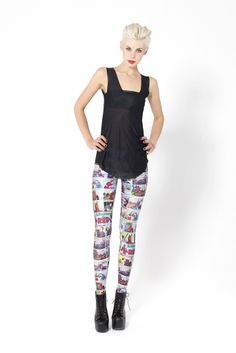 Black Milk Woman in Red Ep. 1 Leggings - finally found these discontinued leggings for my DAUGHTER.  I think they're cute!