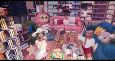 Parfait, Arcade, Manga, Children, Fun, Young Children, Boys, Manga Anime, Kids