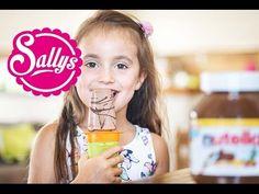 Nutella-Eis am Stiel selber machen /aus 3 Zutaten / Wassereis selber machen - YouTube