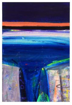 Killala Opening by Barbara Rae Pastel Landscape, Abstract Landscape Painting, Contemporary Landscape, Landscape Art, Abstract Art, River Painting, Oil Painting On Canvas, Barbara Rae, Waterfall Paintings