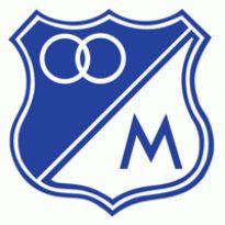 Club Deportivo Los Millonarios Logo. Get this logo in Vector format from http://logovectors.net/club-deportivo-los-millonarios/