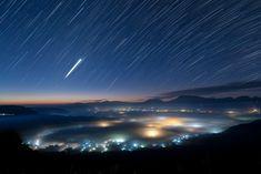 Jewelvoxに星の雨が降る by kei fukuda Nippon, Landscape Photos, Northern Lights, Photograph, Japan, Nature, Travel, Beautiful, Photography