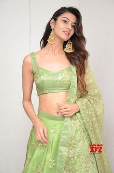 Indian Girl Pooja Solanki Navel Show In Green Lehenga Choli WhatsApp us for Purchase & Inquiry : Buy Best Designer Collection from Ethnic Outfits, Indian Outfits, Fashion Outfits, Girl Fashion Style, Ladies Fashion, Fashion Ideas, Green Lehenga, Lehenga Choli, Bridal Lehenga