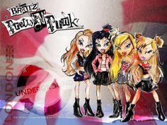 bratz pretty n punk Bratz Characters, Monster High Characters, Drawing Cartoon Characters, Cartoon Tv, Dc Superhero Girls Dolls, Bratz Movie, Bratz Doll Outfits, Pretty Punk, Brat Doll