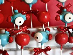 airplane party cakepops
