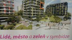 Lide, mesto a zelen v symbioze