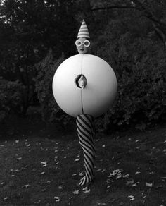 Oskar Schlemmer costume for the Triadic Ballet. 1922. Again, spiral pattern is a key focus, and planetary-like circular forms.