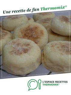 Muffins anglais par cathy290. Une recette de fan à retrouver dans la catégorie Pains & Viennoiseries sur www.espace-recettes.fr, de Thermomix®.
