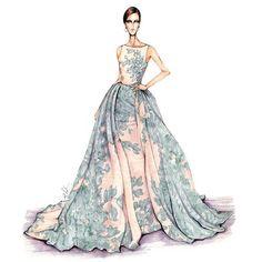 Resultado de imagem para paris fashion sketches