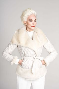 Carmen Dell'Orefice Is Elegance Personified At 85