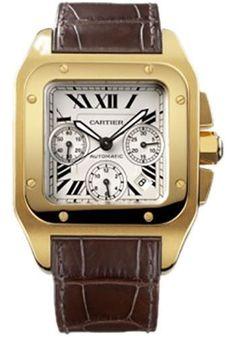 51a6752ee8a Cartier Santos 100 Extra Large Watch W20096Y1