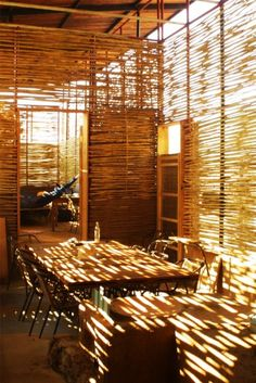 Yaee Bajareque 2 Bamboo Design, Architecture, Room, Furniture, Home Decor, Texture, Arquitetura, Bedroom, Decoration Home