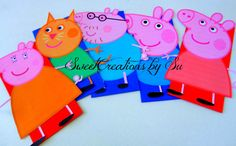 Hey, I found this really awesome Etsy listing at https://www.etsy.com/listing/203970725/sale-inspired-peppa-pig-party-favor-bags