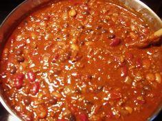 You say chili, I say soup.