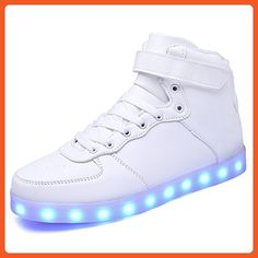 online shopping for sexphd Women Men LED Light Luminous Sneaker High Top  Lovers Athletic Shoes USB Charge from top store. See new offer for sexphd  Women Men ... 57be7a86f53e8