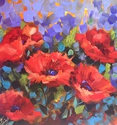 """Sweet Dreams Poppies by Texas ..."" by Nancy Medina"