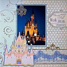 Cinderellas Castle - Disney World, Florida - RIGHT SIDE - Scrapbook.com