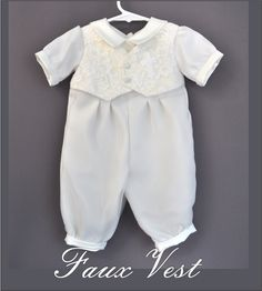 e5416bd5d Custom Heirloom Christening Outfits | Fairy Godmother Creations Baptism Gown,  Christening Gowns, Baby Boy