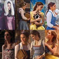 The many wonderful looks of Belle! Which one is your favorite? ✨✨✨ Follow BATB producer @therealjackmorrissey for more fun news