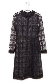Simone Rocha Floral-Embroidered Tulle Dress, $2,750; lagarconne.com   - ELLE.com