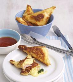 French Toast Filled With Ham & Cheese // Kedvencünk reggelire: sajtos-sonkás bundáskenyér / Éva Magazin