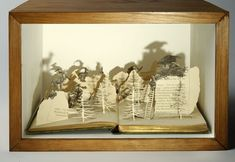 Altered Books | ULLABENULLA: Altered Books Taken To A New Dimension