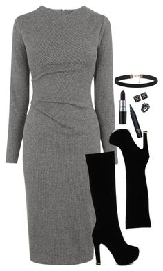 """Alex - Professional."" by thefriendlypsychopath ❤ liked on Polyvore featuring Whistles, M.A.C, Kenneth Jay Lane, women's clothing, women, female, woman, misses and juniors"