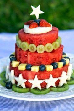 Pastel de frutas frescas: fácil y original.