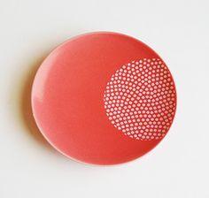 鮫小紋丸赤 - ONLINE SHOP 豆皿通販