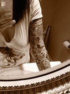 sacred geometry tattoos: Photo