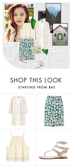 """""""1163"""" by melanie-avni ❤ liked on Polyvore featuring Violeta by Mango and Dolce&Gabbana"""