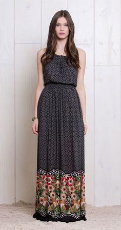 Vestido Longo Amor Perfeito   Lookbook   Antix Store