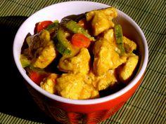 curry de frango com iogurte Pitadinha
