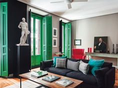 Interior designer Dirk Jan Kinet does not fill his spaces with Ikea, does not karate chop his p...