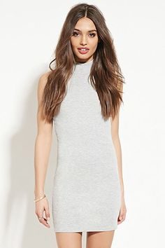 High-Neck Bodycon Dress | Forever 21 - 2000153894