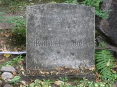 Tombstone Tuesday – Edvards Blūmbergs, 1874-1937