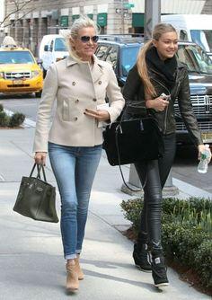 Yolanda Foster and Gigi Hadid ... CocoLuxe