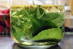 Il Liquore delle 13 erbe si prepara mettendo in infusione ognuna delle 13 erbe previste e lasciando riposare una prima volta per 3 giorni e quindi ag...
