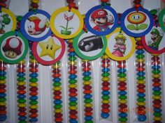 12 Super Mario Brothers Bros. Candy Treat Bags por JustTheCuteStuff